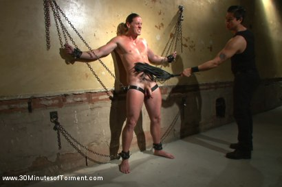 Photo number 4 from Ass Torture shot for 30 Minutes of Torment on Kink.com. Featuring Kip Johnson in hardcore BDSM & Fetish porn.