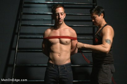 Photo number 1 from Torturous Edging of Bryan Cole shot for Men On Edge on Kink.com. Featuring Bryan Cole in hardcore BDSM & Fetish porn.