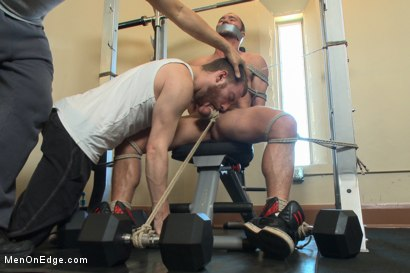 Photo number 5 from Gym jock taken down and edged against his will  shot for Men On Edge on Kink.com. Featuring Colt Rivers in hardcore BDSM & Fetish porn.