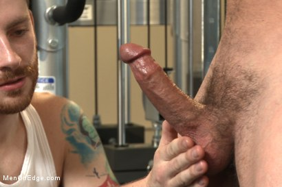 Photo number 9 from Gym jock taken down and edged against his will  shot for Men On Edge on Kink.com. Featuring Colt Rivers in hardcore BDSM & Fetish porn.