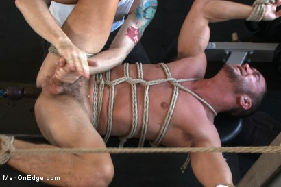 Photo number 14 from Gym jock taken down and edged against his will  shot for Men On Edge on Kink.com. Featuring Colt Rivers in hardcore BDSM & Fetish porn.