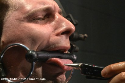 Photo number 1 from Stud with a 10 inch fat cock gets torment to the extreme shot for 30 Minutes of Torment on Kink.com. Featuring Jay Rising in hardcore BDSM & Fetish porn.