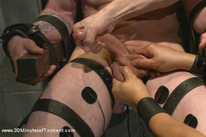 Photo number 3 from Stud with a 10 inch fat cock gets torment to the extreme shot for 30 Minutes of Torment on Kink.com. Featuring Jay Rising in hardcore BDSM & Fetish porn.