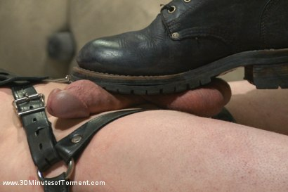 Photo number 8 from Stud with a 10 inch fat cock gets torment to the extreme shot for 30 Minutes of Torment on Kink.com. Featuring Jay Rising in hardcore BDSM & Fetish porn.