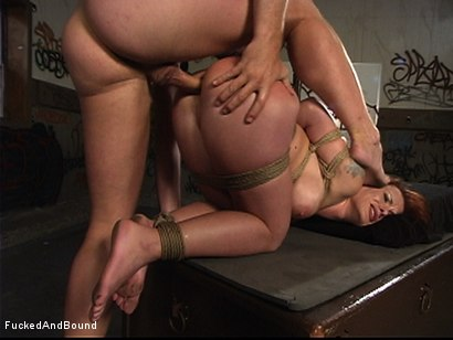 Photo number 14 from Punishment Games shot for Fucked and Bound on Kink.com. Featuring Otto Bauer and Katja Kassin in hardcore BDSM & Fetish porn.