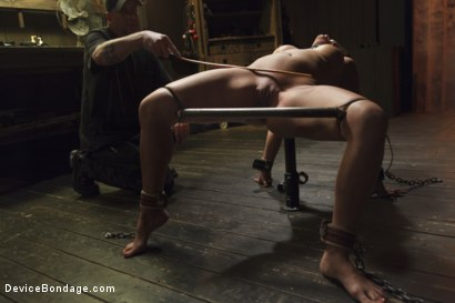 Photo number 9 from Bratty MILF gets tortured and made to cum!! shot for Device Bondage on Kink.com. Featuring Penny Barber in hardcore BDSM & Fetish porn.