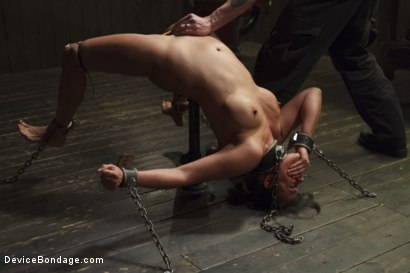 Photo number 5 from Bratty MILF gets tortured and made to cum!! shot for Device Bondage on Kink.com. Featuring Penny Barber in hardcore BDSM & Fetish porn.