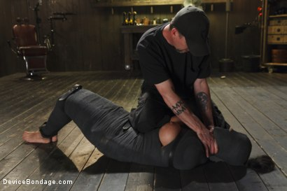 Photo number 7 from Bratty MILF gets tortured and made to cum!! shot for Device Bondage on Kink.com. Featuring Penny Barber in hardcore BDSM & Fetish porn.