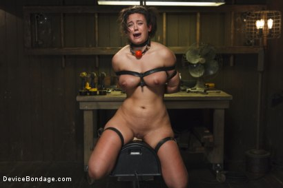 Photo number 12 from Bratty MILF gets tortured and made to cum!! shot for Device Bondage on Kink.com. Featuring Penny Barber in hardcore BDSM & Fetish porn.