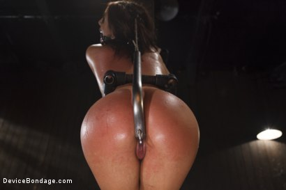 Photo number 1 from Young Latin Pain Slut  shot for Device Bondage on Kink.com. Featuring Liv Aguilera in hardcore BDSM & Fetish porn.