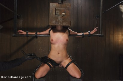 Photo number 6 from Young Latin Pain Slut  shot for Device Bondage on Kink.com. Featuring Liv Aguilera in hardcore BDSM & Fetish porn.