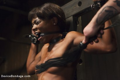 Photo number 1 from Runway Model Turned Slut, gets Destroyed!!! shot for Device Bondage on Kink.com. Featuring Ana Foxxx in hardcore BDSM & Fetish porn.