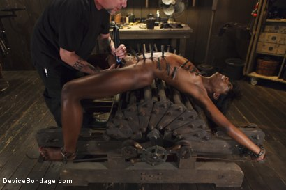 Photo number 7 from Runway Model Turned Slut, gets Destroyed!!! shot for Device Bondage on Kink.com. Featuring Ana Foxxx in hardcore BDSM & Fetish porn.