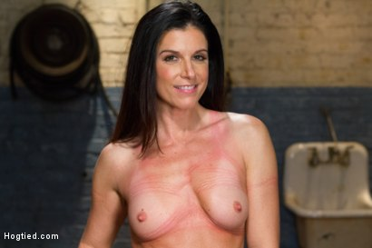 Photo number 15 from MILF of the Year India Summer! shot for Hogtied on Kink.com. Featuring India Summer in hardcore BDSM & Fetish porn.
