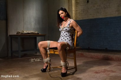 Photo number 2 from MILF of the Year India Summer! shot for Hogtied on Kink.com. Featuring India Summer in hardcore BDSM & Fetish porn.