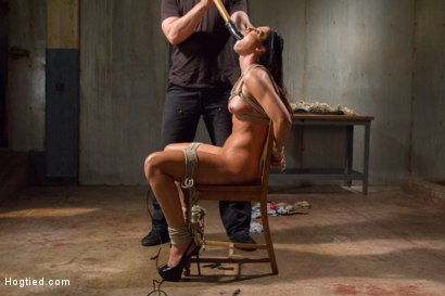 Photo number 4 from MILF of the Year India Summer! shot for Hogtied on Kink.com. Featuring India Summer in hardcore BDSM & Fetish porn.