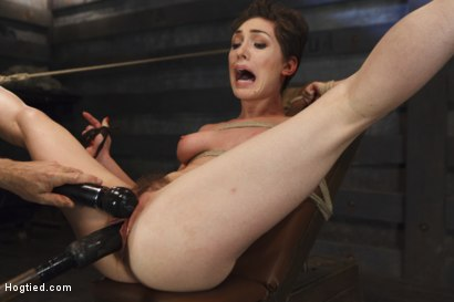 Photo number 6 from Gorgeous Girl, Screaming Orgasms, Tight Rope shot for Hogtied on Kink.com. Featuring Lily LaBeau in hardcore BDSM & Fetish porn.