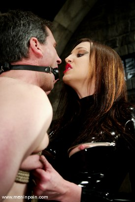 Photo number 3 from Michael and Deja Daire shot for Men In Pain on Kink.com. Featuring Michael and Deja Daire in hardcore BDSM & Fetish porn.