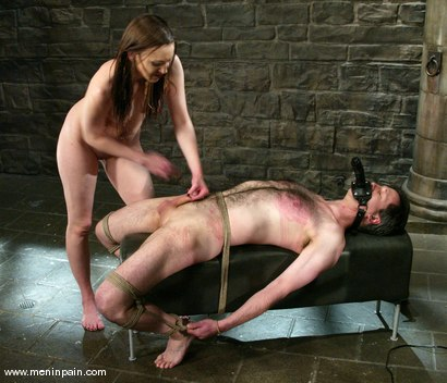 Photo number 14 from Michael and Deja Daire shot for Men In Pain on Kink.com. Featuring Michael and Deja Daire in hardcore BDSM & Fetish porn.