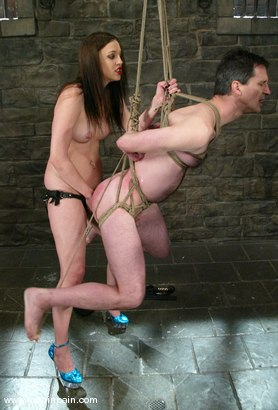 Photo number 8 from Michael and Deja Daire shot for Men In Pain on Kink.com. Featuring Michael and Deja Daire in hardcore BDSM & Fetish porn.