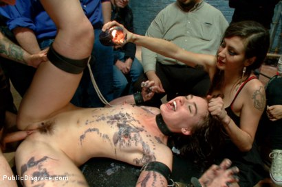Photo number 6 from Dirty whore gets hosed down and humiliated shot for Public Disgrace on Kink.com. Featuring Jodi Taylor and Tommy Pistol in hardcore BDSM & Fetish porn.