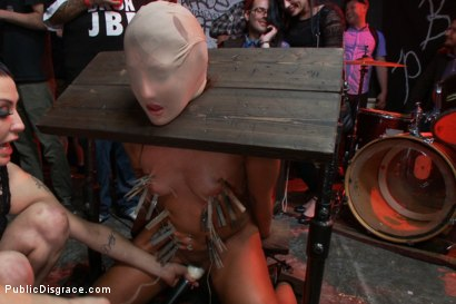 Photo number 14 from Sex, disgrace and noise! Hottie fucked at a punk show. Squirt all over shot for Public Disgrace on Kink.com. Featuring Xander Corvus and Savannah Fox in hardcore BDSM & Fetish porn.