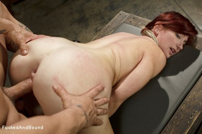 Photo number 11 from Newbie gets brutally fucked in tight bondage shot for Fucked and Bound on Kink.com. Featuring Derrick Pierce and Sophia Locke in hardcore BDSM & Fetish porn.