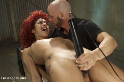 Photo number 2 from Hot Slut is Tormented and Fucked shot for Fucked and Bound on Kink.com. Featuring Derrick Pierce and Daisy Ducati in hardcore BDSM & Fetish porn.