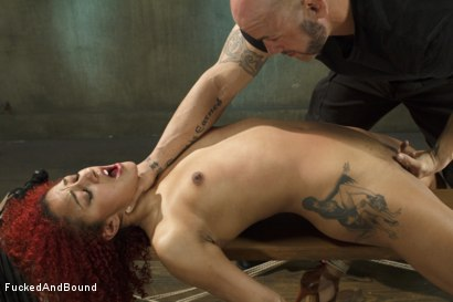 Photo number 12 from Hot Slut is Tortured and Fucked shot for  on Kink.com. Featuring Derrick Pierce and Daisy Ducati in hardcore BDSM & Fetish porn.