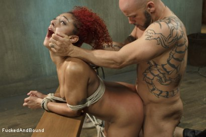 Photo number 13 from Hot Slut is Tortured and Fucked shot for  on Kink.com. Featuring Derrick Pierce and Daisy Ducati in hardcore BDSM & Fetish porn.