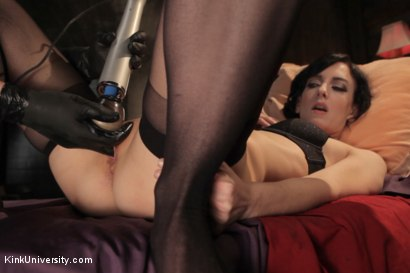 Photo number 12 from Fingerbanging and G-Spot Mastery - Presented by Danarama shot for Kink University on Kink.com. Featuring Elise Graves and Danarama in hardcore BDSM & Fetish porn.