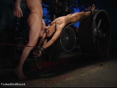 Photo number 17 from Sex Slave #26 shot for  on Kink.com. Featuring Marie Luv and Kurt Lockwood in hardcore BDSM & Fetish porn.