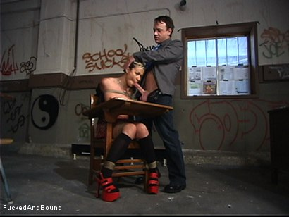 Photo number 4 from Respect For Education shot for  on Kink.com. Featuring Kurt Lockwood and Cindy Crawford in hardcore BDSM & Fetish porn.