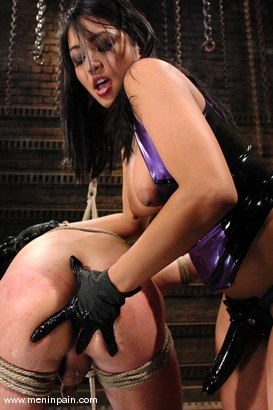 Photo number 13 from Mika Tan and Danny Wylde shot for Men In Pain on Kink.com. Featuring Mika Tan and Danny Wylde in hardcore BDSM & Fetish porn.