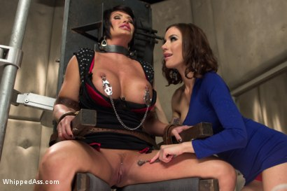 Photo number 3 from Gold Star Lesbian: Super MILF reprogrammed! shot for Whipped Ass on Kink.com. Featuring Gia DiMarco and Shay Fox in hardcore BDSM & Fetish porn.