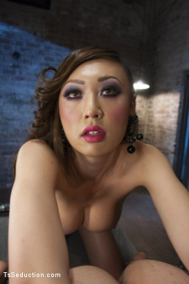 Photo number 6 from BONUS VENUS LUX POV SHOOT - SHE FUCKS YOU! shot for TS Seduction on Kink.com. Featuring Venus Lux and Joey Rico in hardcore BDSM & Fetish porn.