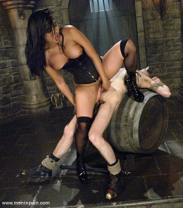 Photo number 11 from Mika Tan and Elliot Skellington shot for Men In Pain on Kink.com. Featuring Mika Tan and Elliot Skellington in hardcore BDSM & Fetish porn.