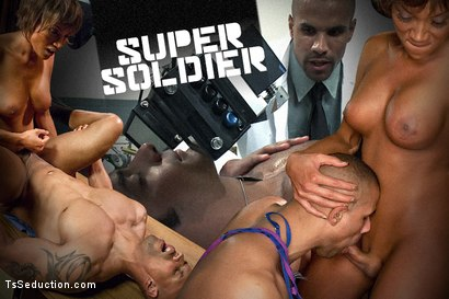 "Yasmin Lee Stars in a TsSeduction FEATURE MOVE: ""The Super Soldier"""