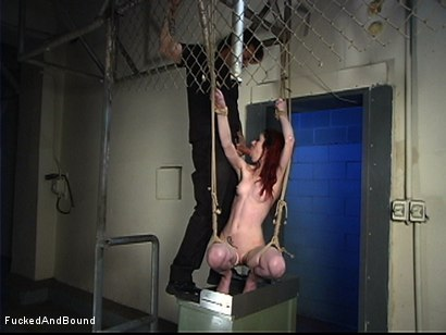 Photo number 12 from Simply Inescapable shot for Fucked and Bound on Kink.com. Featuring Arachnia Webb and Master Liam in hardcore BDSM & Fetish porn.