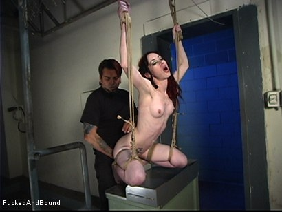 Photo number 15 from Simply Inescapable shot for Fucked and Bound on Kink.com. Featuring Arachnia Webb and Master Liam in hardcore BDSM & Fetish porn.