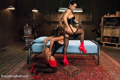 Photo number 3 from Anal Assault shot for Everything Butt on Kink.com. Featuring Sadie Santana and Isis Love in hardcore BDSM & Fetish porn.