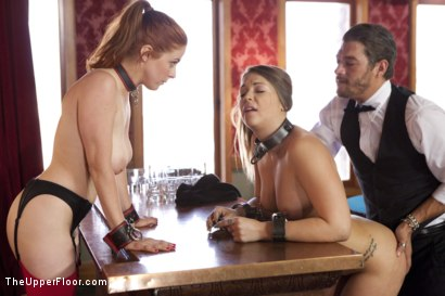 Photo number 2 from The New Maid shot for The Upper Floor on Kink.com. Featuring Xander Corvus, Penny Pax and Jenna Ashley in hardcore BDSM & Fetish porn.