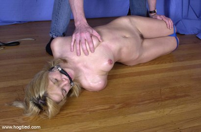 Photo number 2 from Violet shot for Hogtied on Kink.com. Featuring Violet in hardcore BDSM & Fetish porn.