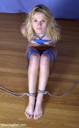 Photo number 5 from Violet shot for Hogtied on Kink.com. Featuring Violet in hardcore BDSM & Fetish porn.