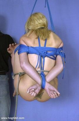 Photo number 8 from Violet shot for Hogtied on Kink.com. Featuring Violet in hardcore BDSM & Fetish porn.