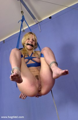 Photo number 7 from Violet shot for Hogtied on Kink.com. Featuring Violet in hardcore BDSM & Fetish porn.