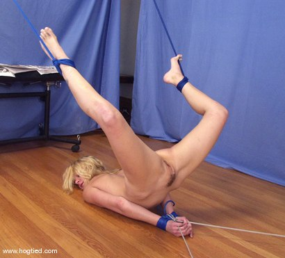 Photo number 13 from Violet shot for Hogtied on Kink.com. Featuring Violet in hardcore BDSM & Fetish porn.