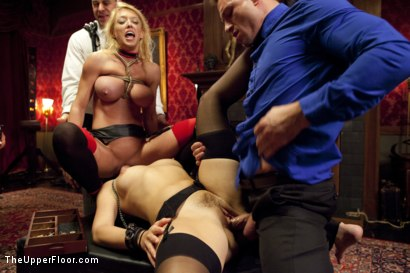 Photo number 8 from Anal House Slave Teaches Anikka Albrite to Service Cock shot for The Upper Floor on Kink.com. Featuring Anikka Albrite, Bill Bailey and Dee Williams in hardcore BDSM & Fetish porn.