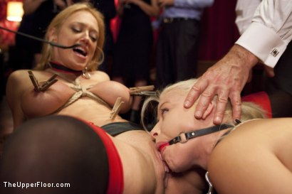 Photo number 5 from Anal House Slave Teaches Anikka Albrite to Service Cock shot for The Upper Floor on Kink.com. Featuring Anikka Albrite, Bill Bailey and Dee Williams in hardcore BDSM & Fetish porn.