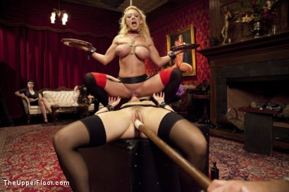 Photo number 7 from Anal House Slave Teaches Anikka Albrite to Service Cock shot for The Upper Floor on Kink.com. Featuring Anikka Albrite, Bill Bailey and Dee Williams in hardcore BDSM & Fetish porn.